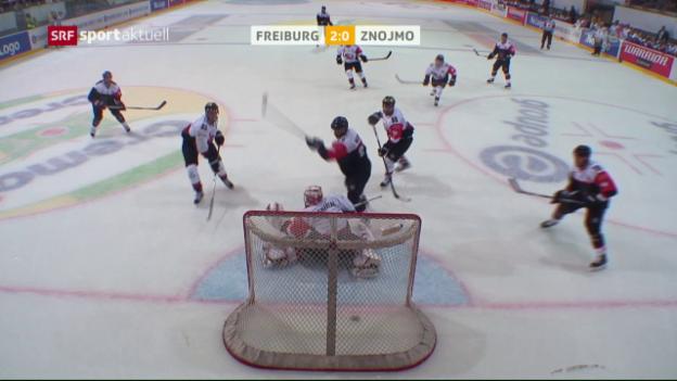 Video «Freiburg reitet in der CHL auf der Erfolgswelle» abspielen