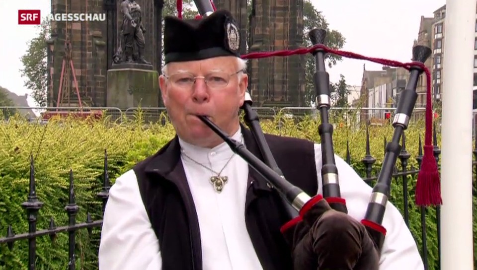 Grosse Spannung vor dem Urnengang in Schottland