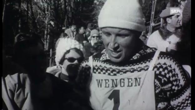 Video «1962: Mathis siegt im Slalom» abspielen
