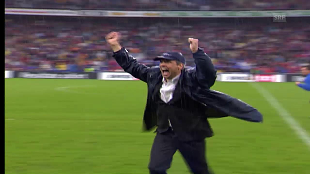 Fussball-Glück: Das Meistertor vom FCZ (13.5.2006)