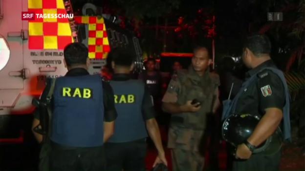Video «Terror in Bangladesch» abspielen