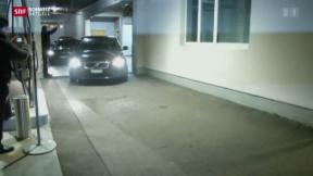 Video «Fifa-Funktionäre in Zürcher Hotel festgenommen» abspielen