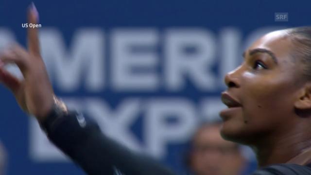 30fe6ecd8902a Weitere Tiraden gegen Ramos - Serena Williams wirft Schiri Sexismus ...