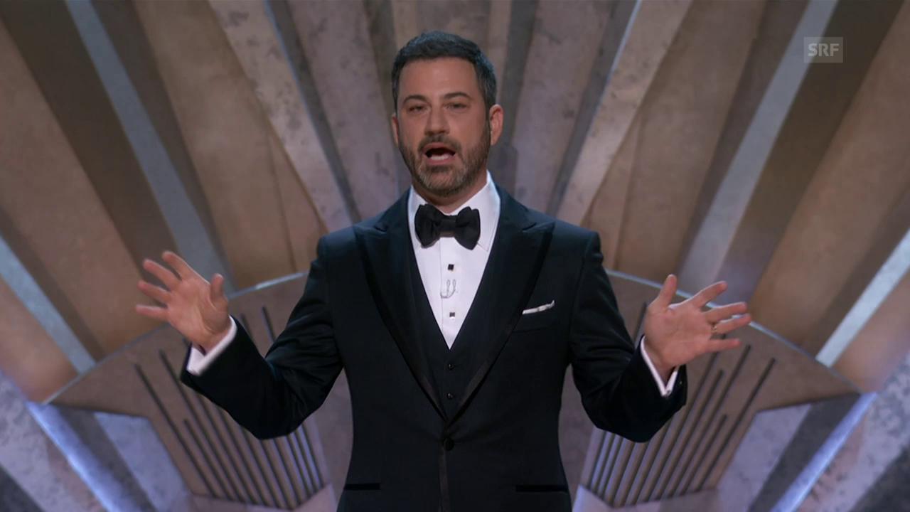 Jimmy Kimmels Eröffnungsmonolog (Originalton)