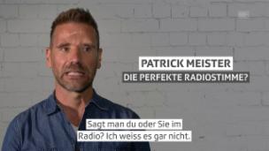 Video «Patrick Meister, für «Hallo SRF!» bei Radio SRF 1» abspielen