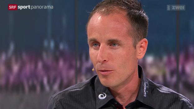 Video «Studiogast Viktor Röthlin über sein letztes Rennen» abspielen