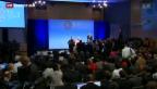 Video «Jahrestagung des Internationalen Währungsfonds und der Weltbank» abspielen