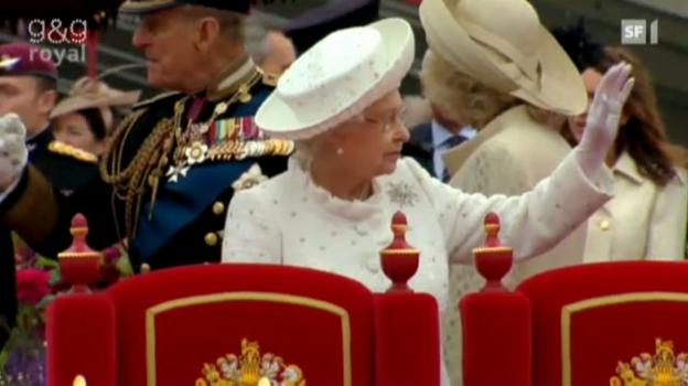 Video «England feiert 60 Jahre Queen» abspielen