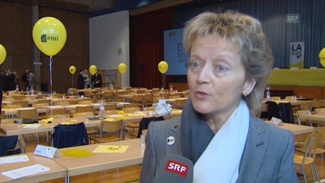 Eveline Widmer-Schlumpf zum Abkommen mit Deutschland