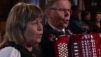 Video «Vreni und Franz Stadelmann mit dem «Samschtig-Jass»-Jodel» abspielen