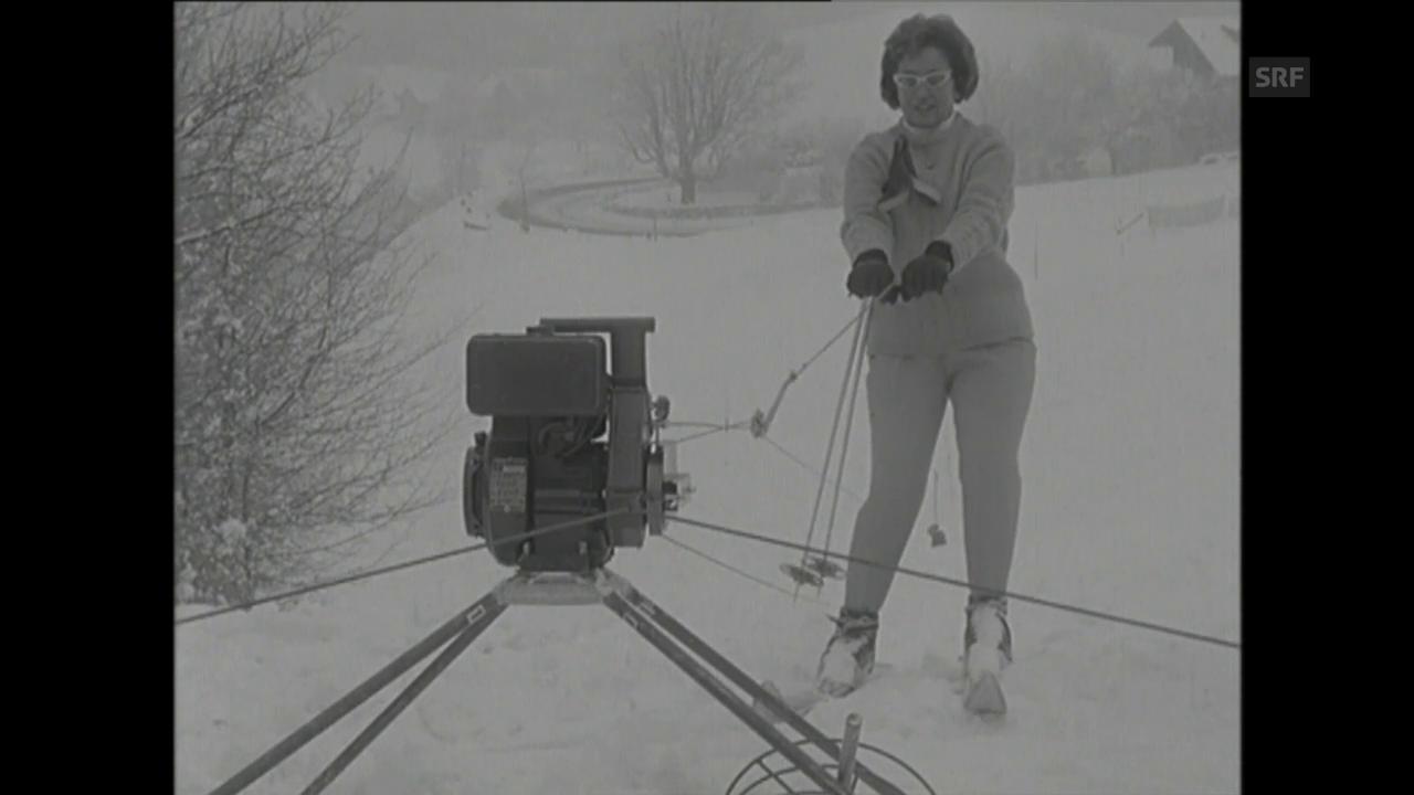 Portabler Skilift (1966)