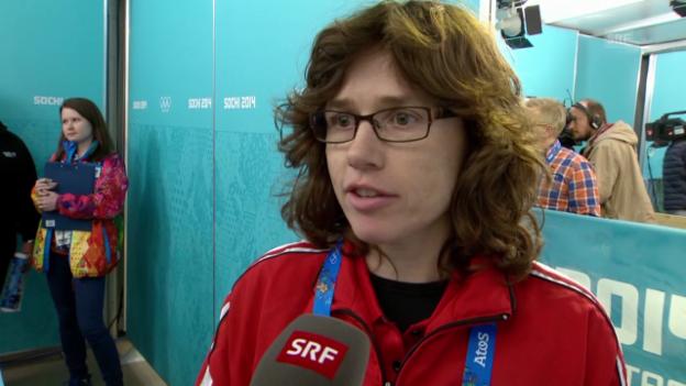 Video «Curling: Interview mit Mirjam Ott (sotschi direkt, 10.02.2014)» abspielen