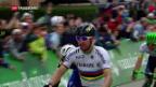 Video «Cancellara verliert Leadertrikot» abspielen