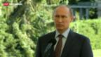 Video «Putin legt Spur zu Snowden» abspielen