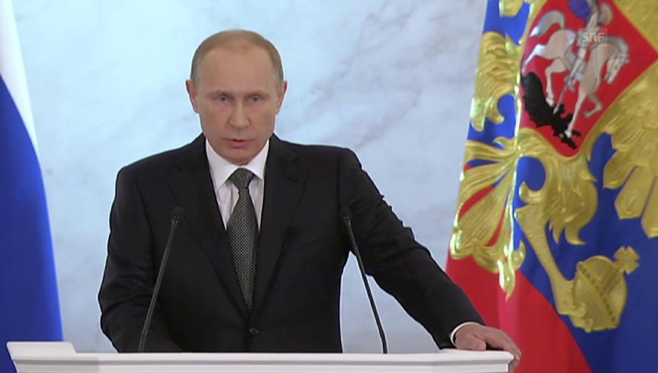 Starker Leader für das Land – SRF Tagesschau, 4.12.2014