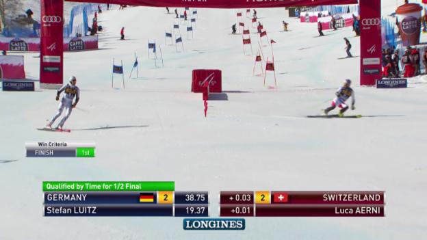 Video «Das hauchdünne Aus der Schweiz im Viertelfinal» abspielen