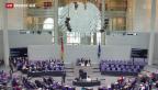 Video «Deutscher Bundestag gibt grünes Licht für Verhandlungen mit Athen» abspielen