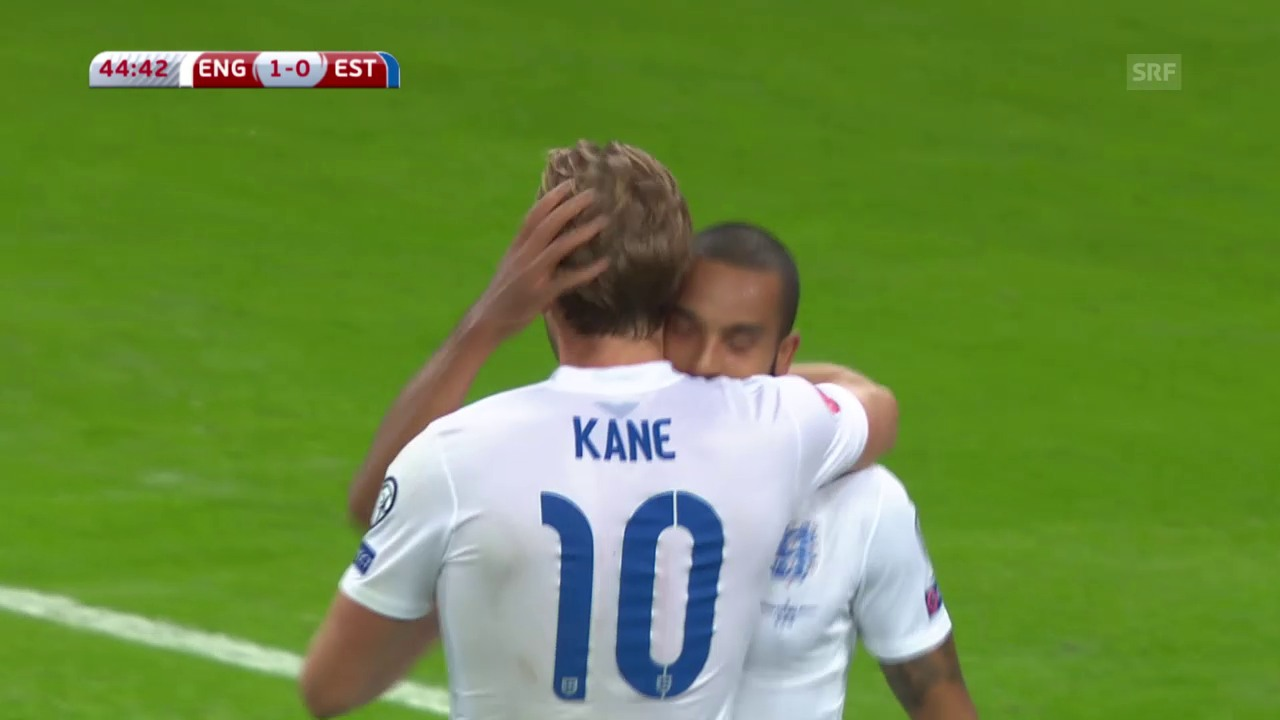 Fussball: EURO-Quali, Zusammenfassung England - Estland