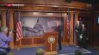 Video «Schwerer Rückschlag für Trump bei «Obamacare»» abspielen