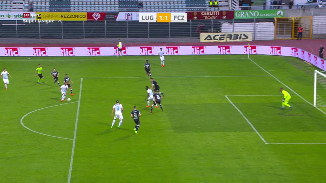 Remis zwischen Lugano und dem FCZ
