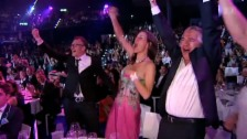 Video «Dominique Rinderknechts Familie platzt vor Stolz» abspielen