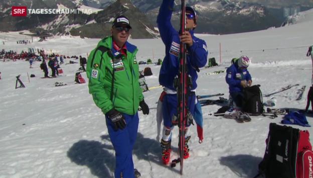 Video ««Swiss Ski» zu Saisonstart» abspielen