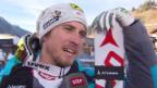 Video «Sieger Franz: «Abschwingen und dann ist es grün – Wahnsinn!»» abspielen