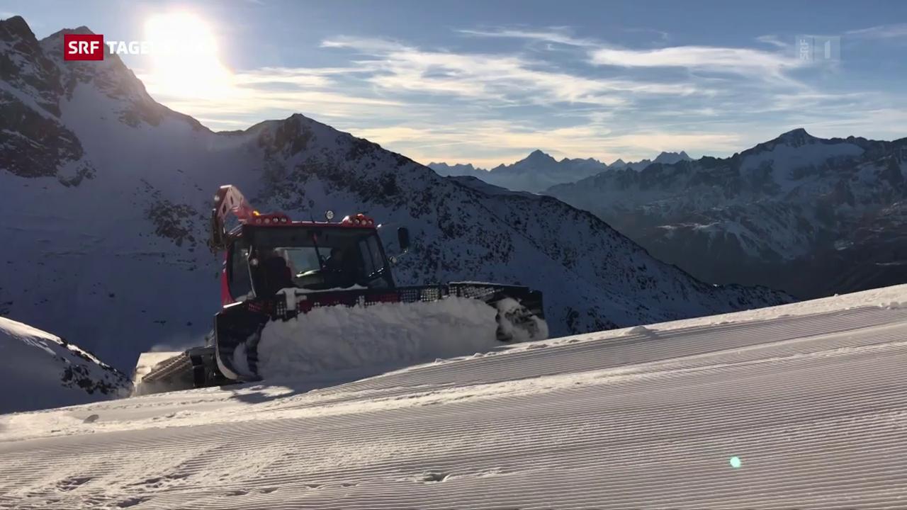 Schneereiche Pisten – dank erfinderischer Skigebiete