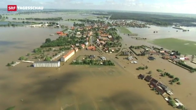 Hochwasser Budapest und Magdeburg