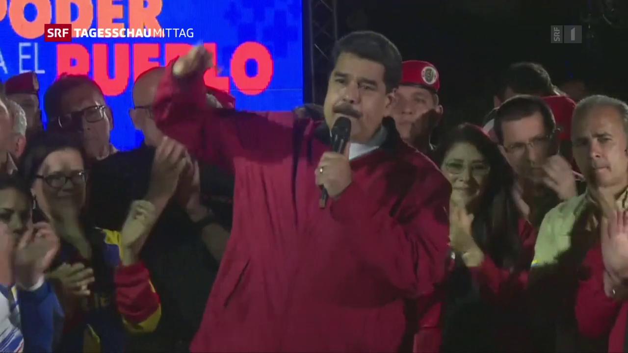 Umstrittene Wahlen in Venezuela