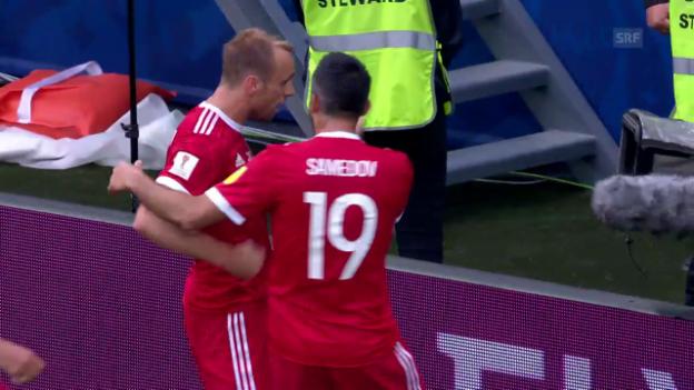 Video «Russland besiegt Neuseeland im Eröffnungsspiel» abspielen