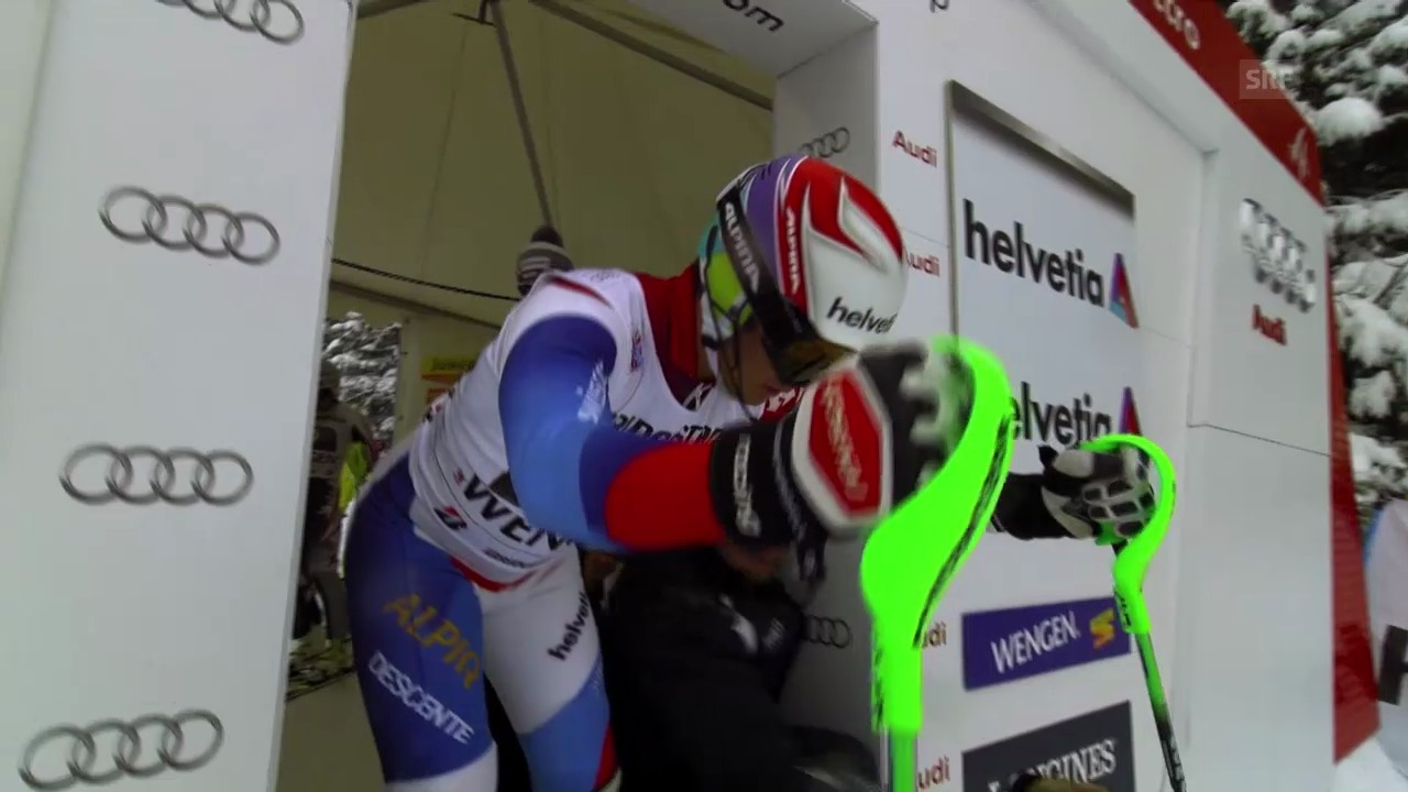 Ski: Weltcup, Super-Kombination, Slalom Viletta
