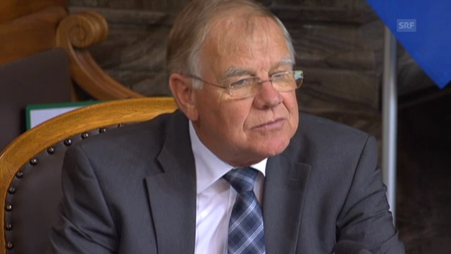 Hans Hess sieht keine grossen Risiken bei Gripen-Kauf