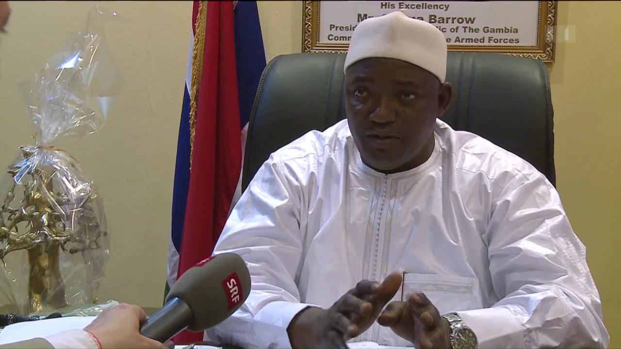 Gambia will die Auslieferung von Ousman Sonko