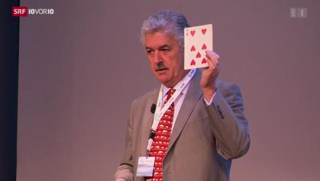 Video «Der Mann, der sich 3000 Spielkarten merken kann» abspielen