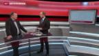 Video «Claude Longchamp und Urs Leuthard diskutieren Tweets» abspielen