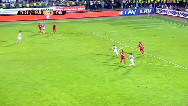 Highlights Partizan Belgrad - Thun