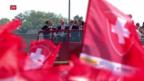 Video «Heldenempfang für Eishockey-Nati» abspielen