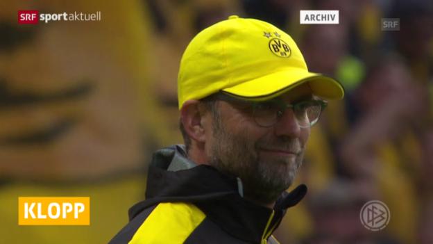 Video «Klopp ist neuer Liverpool-Trainer» abspielen