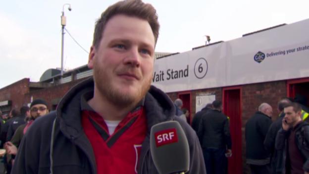 Video «Fussball: Die ManUnited-Fans stehen hinter dem Klub» abspielen