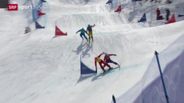Video «Ski Freestyle: Skicross der Männer» abspielen