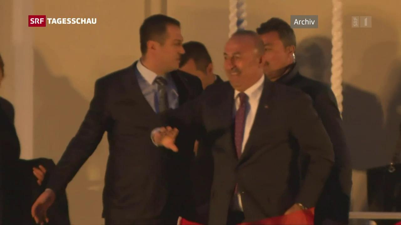 Geplanter Besuch des Aussenministers