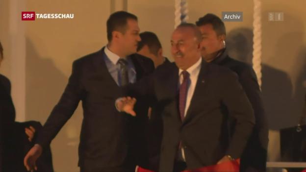 Video «Geplanter Besuch des Aussenministers» abspielen