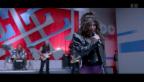 Video «Voller Leidenschaft: Christian Keller feiert Filmpremiere» abspielen