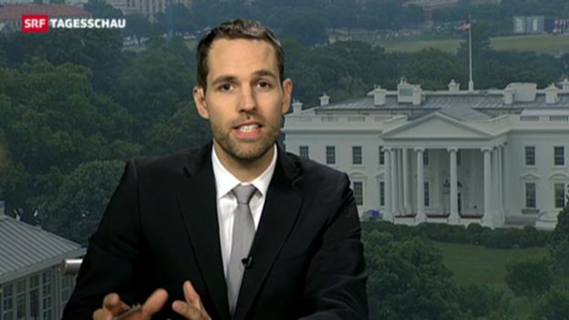 Video «USA-Korrespondet Honegger über das Abkommen mit den USA» abspielen