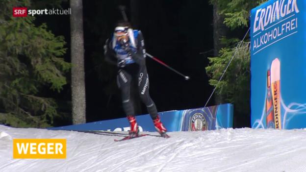 Video «Biathlon: Zusammenfassung Pokljuka» abspielen