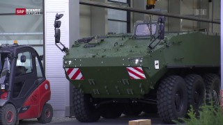 Video «Rüstungsfirma als Wirtschaftsfaktor im Thurgau» abspielen
