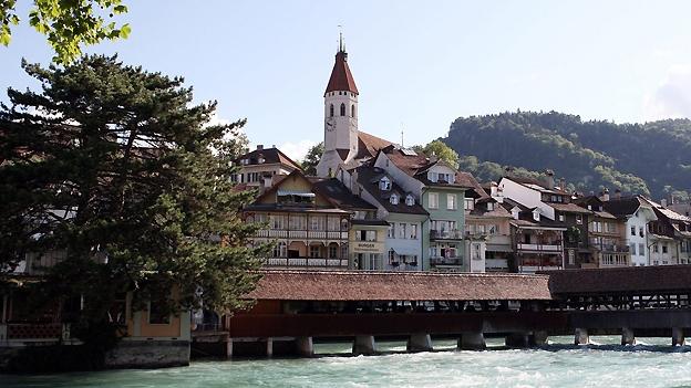 Glockengeläut der Stadtkirche in Thun