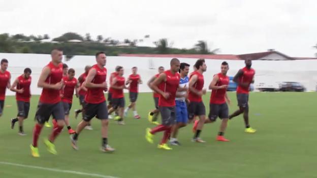 Video «Fussball: WM 2014, Vorschau Honduras-Schweiz» abspielen