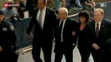 Video «Schmährufe für Strauss-Kahn in New York» abspielen